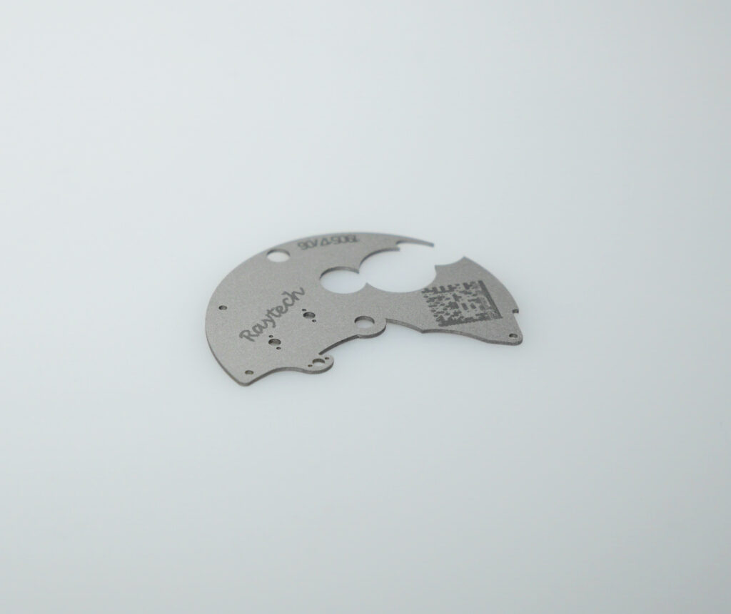 Laser engraving barcodes and QR codes
