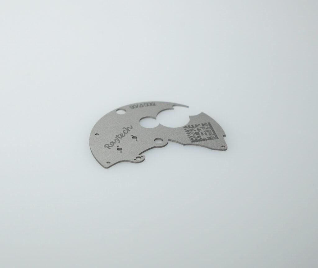 Lasergravieren Barcodes und QR-Codes