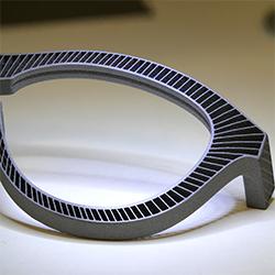 Titanium 3D geprint