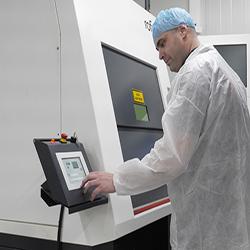 Toeleverancier laserdiensten