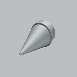 3D titanium printed laser nozzle