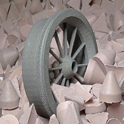 Finishing 3D metal printing