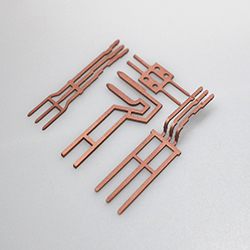 Laser cutting copper