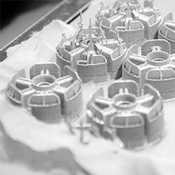 SLM 3D metal printing