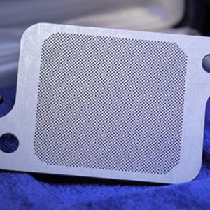 Découpe laser filtres métalliques