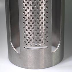 Large metal tube laser cutting