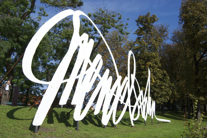 Lasersnijden aluminium letterkunst